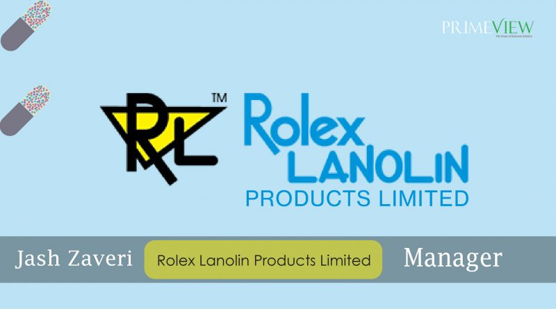 Rolex Lanolin Products Limited (RLPL) has strived to penetrate newer areas of technology and business headquartered in Mumbai.